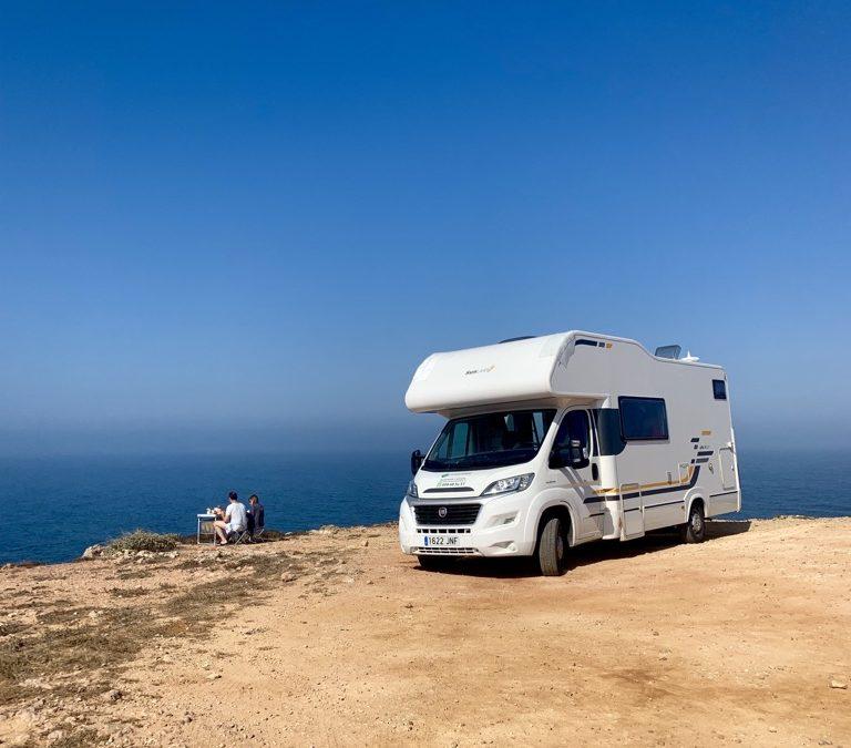 Vários motivos para alugar uma caravana