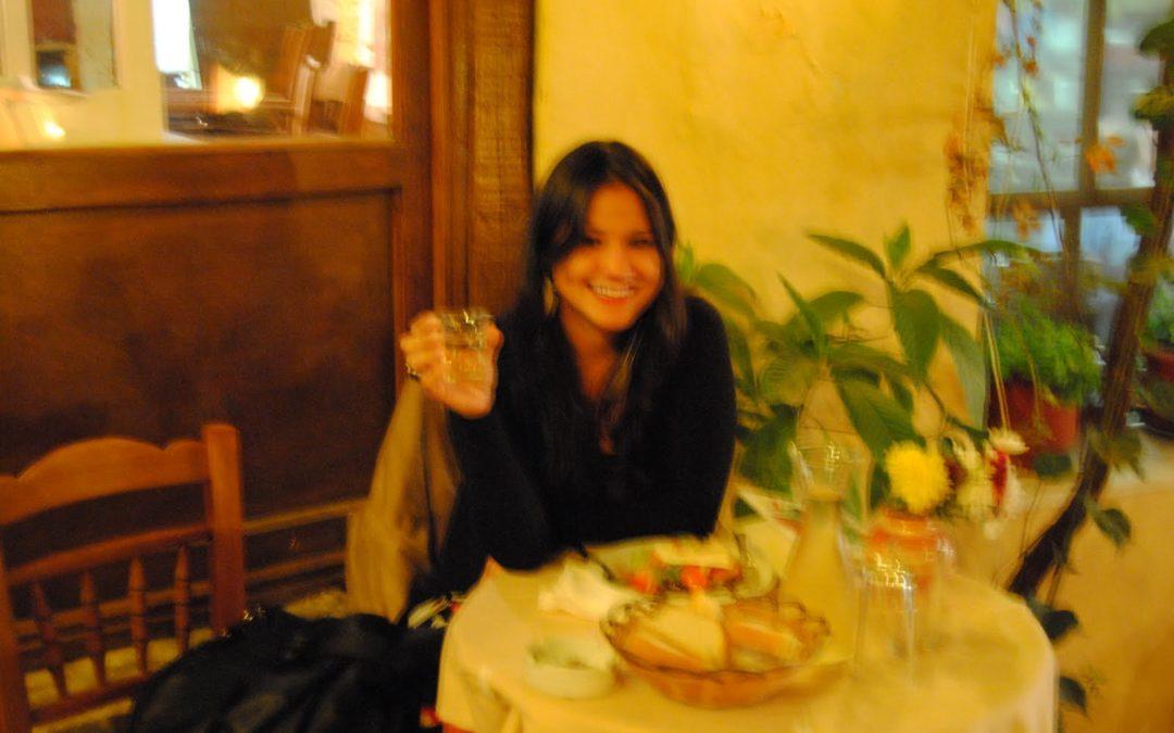 Jantando em companhia… Própria – Atenas